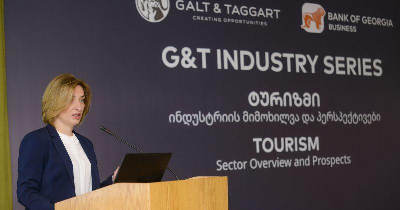 Galt & Taggart-მა ტურიზმის სექტორის შესახებ კვლევა წარადგინა