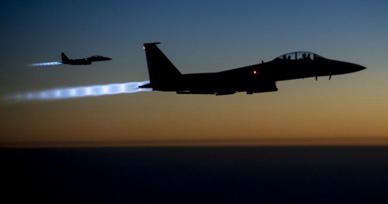 SANA: აშშ-ის კოალიციის საბრძოლო თვითმფრინავებმა სირიის არმიის პოზიციები დაბომბეს