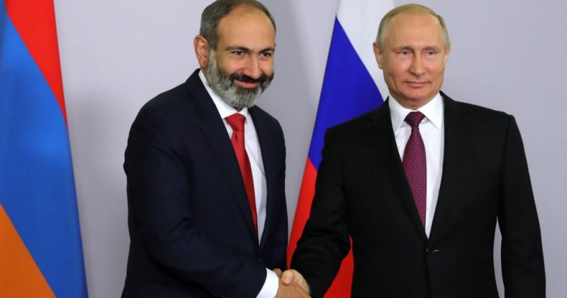 სომხეთის მოქმედი პრემიერმინისტრი ნიკოლ ფაშინიანი რუსეთს სამხედრო დახმარებას სთხოვს