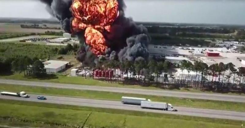 ლუიზიანას შტატში ქიმიური ქარხანა აფეთქდა
