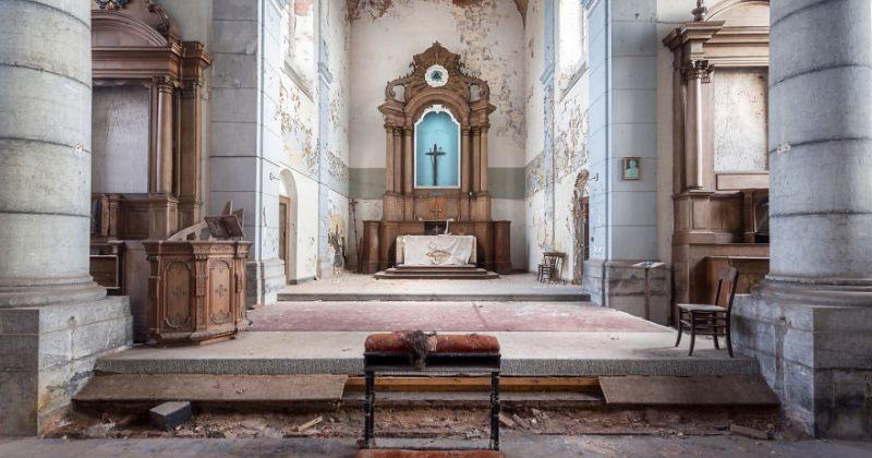 მიტოვებული ეკლესიები - ფოტოპროექტი