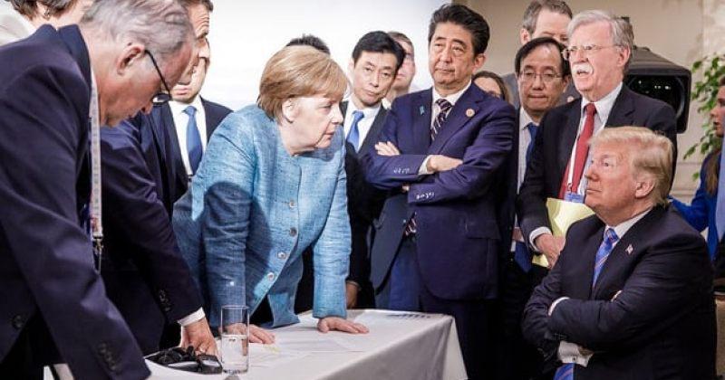 ტრამპმა G7-ის ერთობლივ კომუნიკეს ტრუდოსთან დაპირისპირების გამო ხელი არ მოაწერა