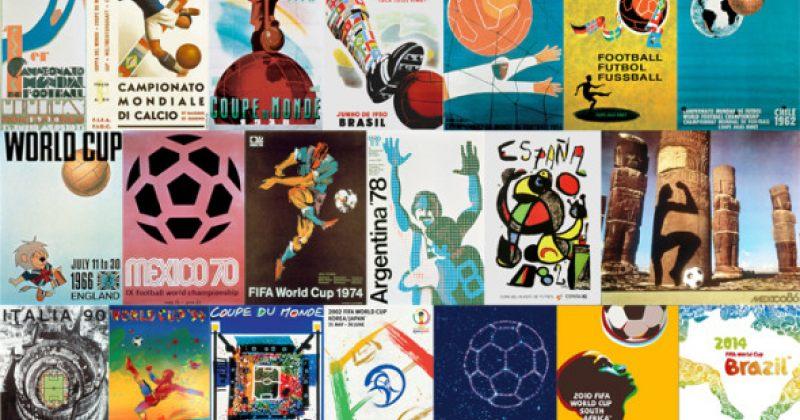 ფეხბურთის მსოფლიო ჩემპიონატების ოფიციალური პოსტერები წლების მანძილზე [ფოტოები]