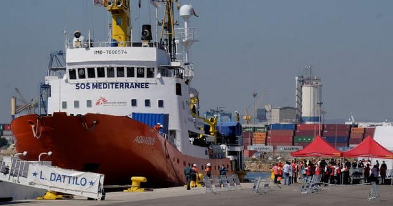 გემი, რომელმაც ხმელთაშუა ზღვაში 630 მიგრანტი გადაარჩინა ვალენსიას პორტმა მიიღო