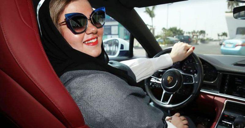 საუდის არაბეთში ქალებს მანქანის მართვის უფლება მიეცათ