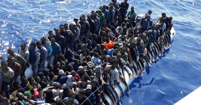 ლიბიის სანაპიროსთან მიგრანტების ნავის ჩაძირვას 3 ბავშვის სიცოცხლე ემსხვერპლა