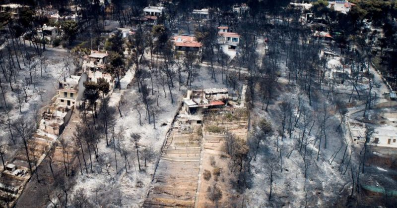 საბერძნეთში ტყის ხანძრის შედეგად დაღუპულთა რიცხვმა 80-ს გადააჭარბა [ფოტოები]