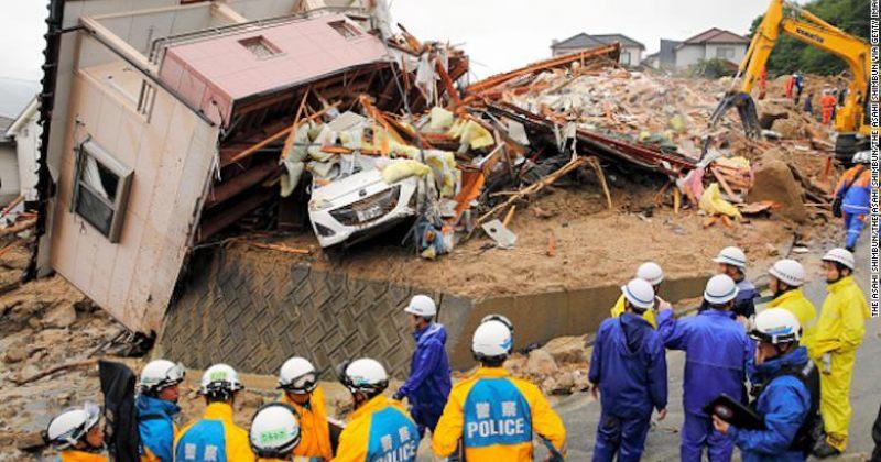 იაპონიაში წყალდიდობის შედეგად სულ მცირე 141 ადამიანი დაიღუპა