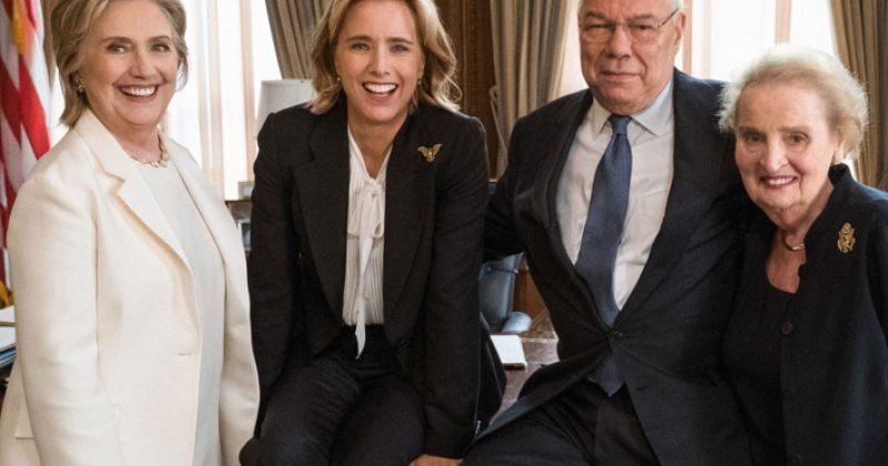 ჰილარი კლინტონი, მადლენ ოლბრაიტი და კოლინ პაუელი CBS-ის სერიალში ითამაშებენ