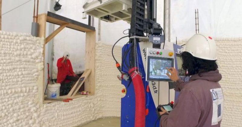 3D პრინტერით დაბეჭდილი სახლი, რომელშიც საცხოვრებლად პირველი ოჯახი გადავიდა