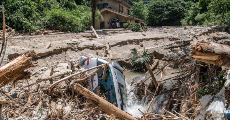 იაპონიაში წყალდიდობის შედეგად დაღუპულთა რიცხვი 176-მდე გაიზარდა