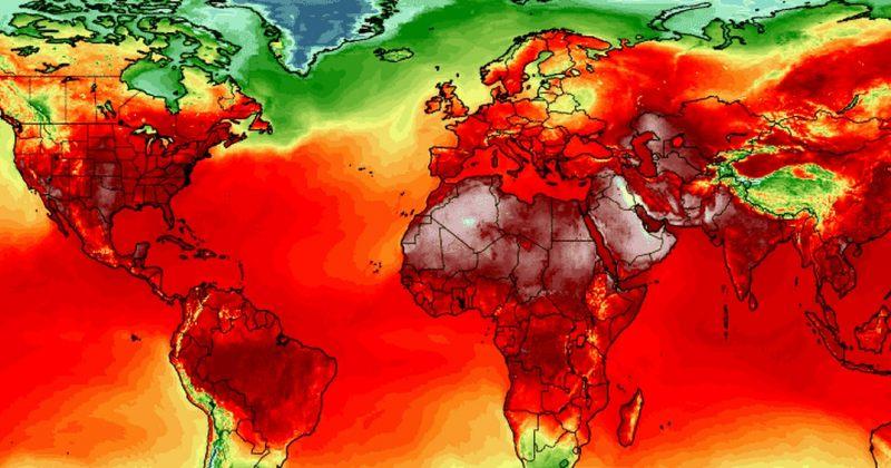 ცხელი ზაფხული - ტემპერატურა მთელ მსოფლიოში რეკორდულად მაღალ მაჩვენებელს აღწევს