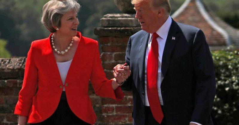 ტერეზა მეი: ტრამპმა მირჩია, რომ ევროკავშირს ვუჩივლო
