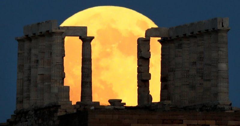 მთვარის დაბნელება დედამიწის სხვადასხვა წერტილიდან [ფოტოები]