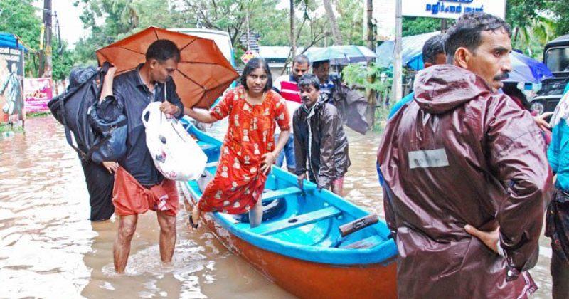 ინდოეთში წყალდიდობის შედეგად დაღუპულთა რიცხვი 164-მდე გაიზარდა