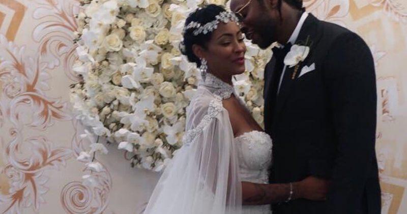 რეპერმა 2 CHAINZ საკუთარ ქორწილში თეთრი ვეფხვი მიიყვანა (ვიდეო)
