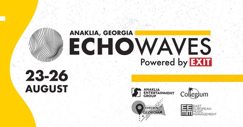 ანაკლიაში ახალი მუსიკალური ფესტივალი ECHOWAVES 2018 გაიმართება, სიახლეები