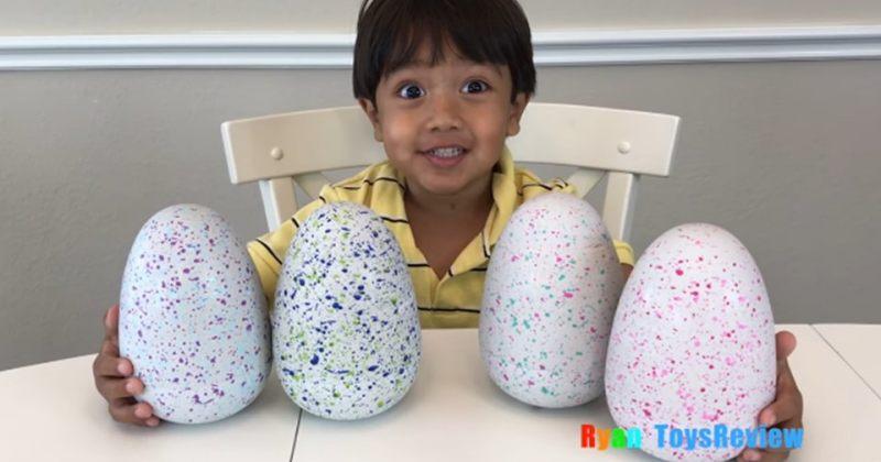 7 წლის რაინი Youtube-ზე სათამაშოების მიმოხილვით მილიონობით დოლარს გამოიმუშავებს