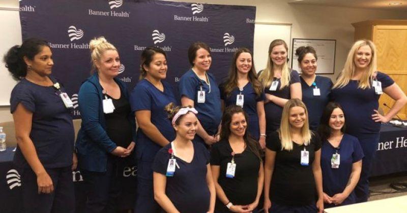 არიზონას შტატის საავადმყოფოში 16 მედდა ერთდროულადაა ფეხმძიმედ