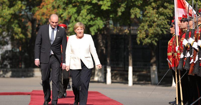 მერკელის ვიზიტის ეკონომიკური ნაწილი - ხელი მოეწერა €193 მილიონის სასესხო დაფინანსებას