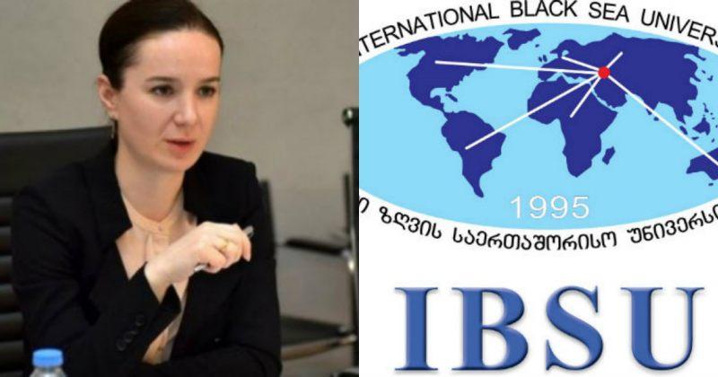სანიკიძე IBSU-ზე: საბჭომ ოპტიმალური და კანონიერი გადაწყვეტილება მიიღო