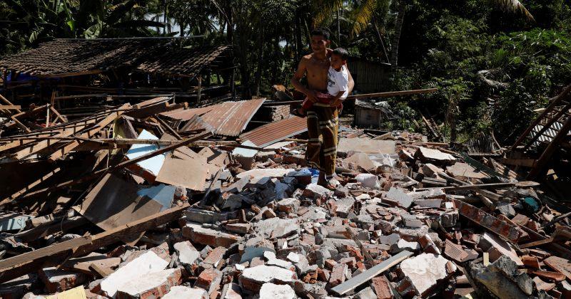 ინდონეზიაში 7 მაგნიტუდის მიწისძვრის შედეგად დაღუპულთა რიცხვმა 400-ს გადააჭარბა