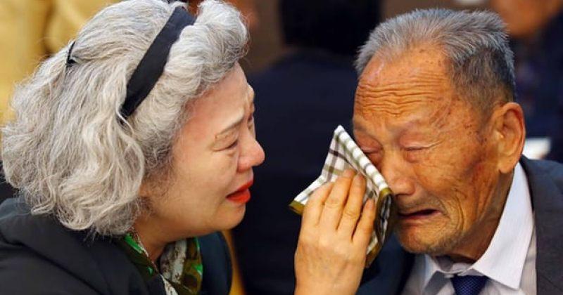 ჩრდილოეთ და სამხრეთ კორეამ ომის შემდეგ დაშორებული ოჯახების გაერთიანება დაიწყეს