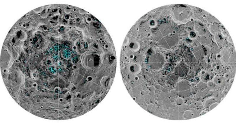 მთვარის ზედაპირზე ყინული აღმოაჩინეს