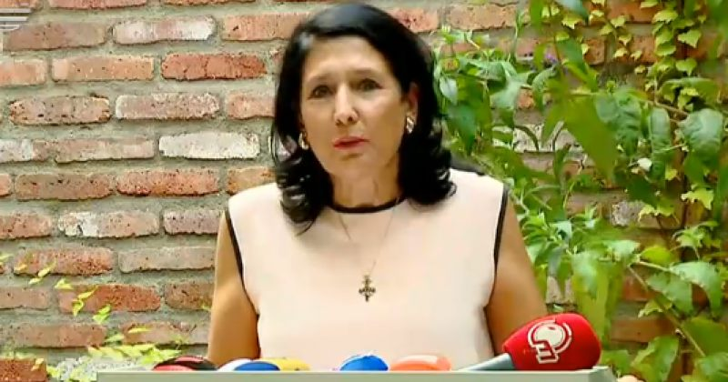 ზურაბიშვილი: ჩემი მრწამსი, მიზანი და ოცნებაა ქვეყნის თავისუფლების დაცვა რუსეთისგან