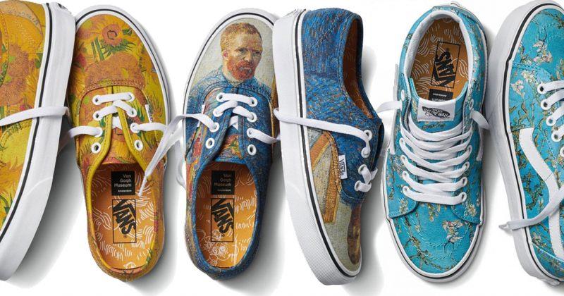 ფეხსაცმელების ბრენდის Vans-ის ახალი კოლექცია ვან გოგის შემოქმედებას მიეძღვნა