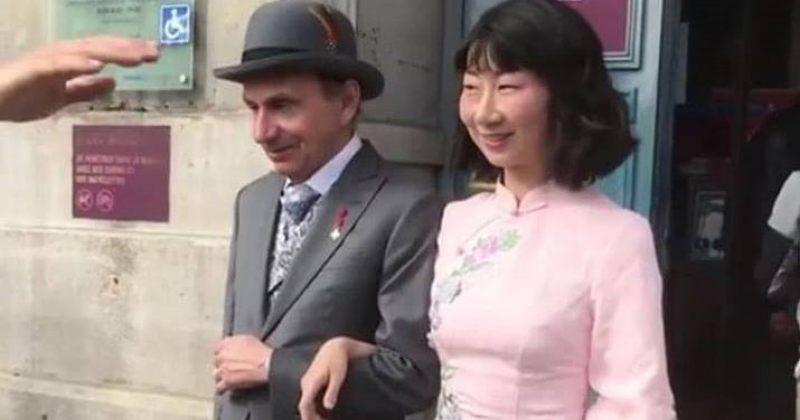 მიშელ უელბეკი დაქორწინდა
