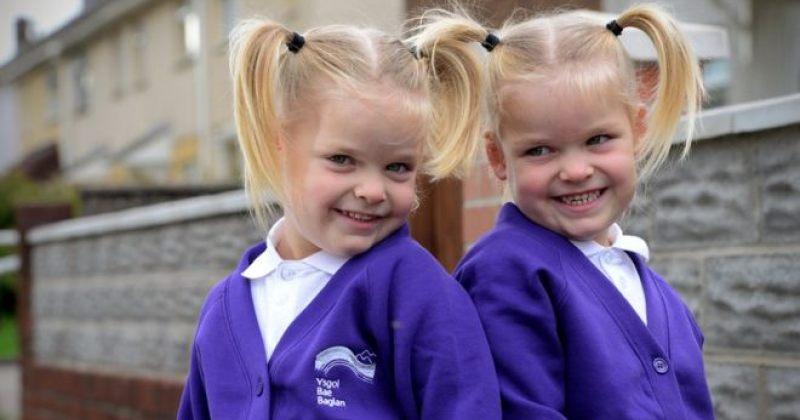 ტყუპი გოგოები, რომელთა გადარჩენის შანსი 5% იყო, უკვე სკოლაშიწავიდნენ