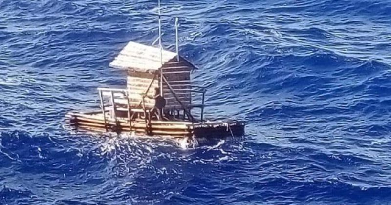 ინდონეზიელმა 18 წლის ბიჭმა 49 დღე ზღვაში, ხის ნავზე გაატარა და გადარჩა