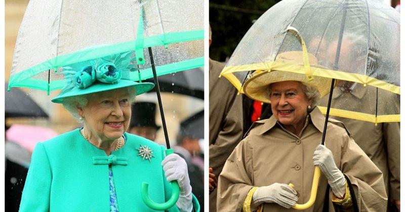 ინტერნეტში შენიშნეს, რომ დიდი ბრიტანეთის დედოფალი ქოლგის ფერს ტანსაცმელს უხამებს