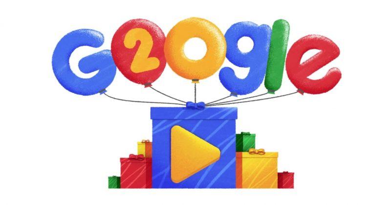 Google-ი 20 წლის გახდა