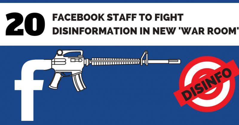 """FACEBOOK-ი """"ომის ოთახს""""არჩევნების დეზინფორმაციისგან დასაცავად ქმნის"""