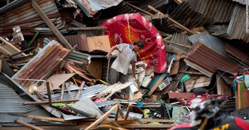 მიწისძვრისა და ცუნამის შედეგად, ინდონეზიაში სულ მცირე 832 ადამიანი დაიღუპა