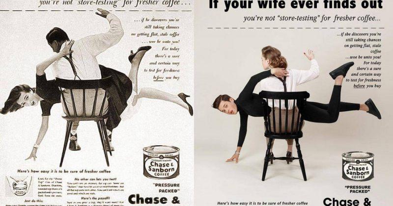 გენდერული როლების ცვლილება 1950-იანი წლების პოსტერებში - სურათები