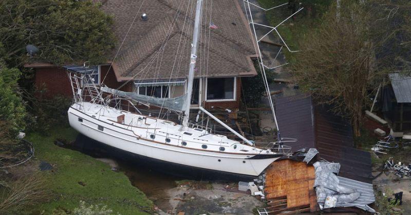 ქარიშხალ ფლორენსის შედეგები აშშ-ში - ფოტოები