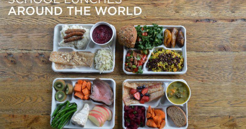 რას ჭამენ ბავშვები მსოფლიოს სხვადასხვა ქვეყნის სკოლებში - სურათები