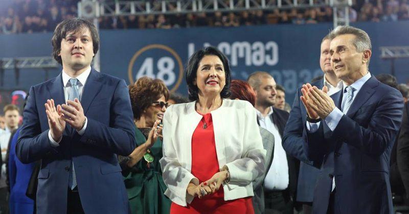 კობახიძე: ზურაბიშვილი უნდა გახდეს პირველი ზეპარტიული პრეზიდენტი ქვეყანაში