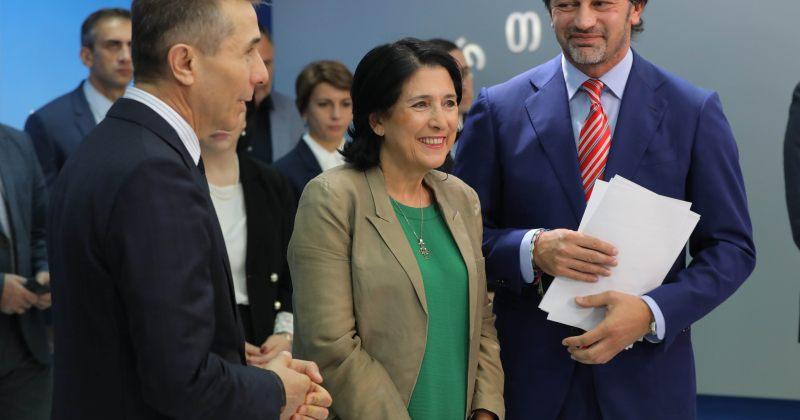 ISFED: ზურაბიშვილის საარჩევნო კამპანიაში ადმინისტრაციული რესურსი გამოიყენეს