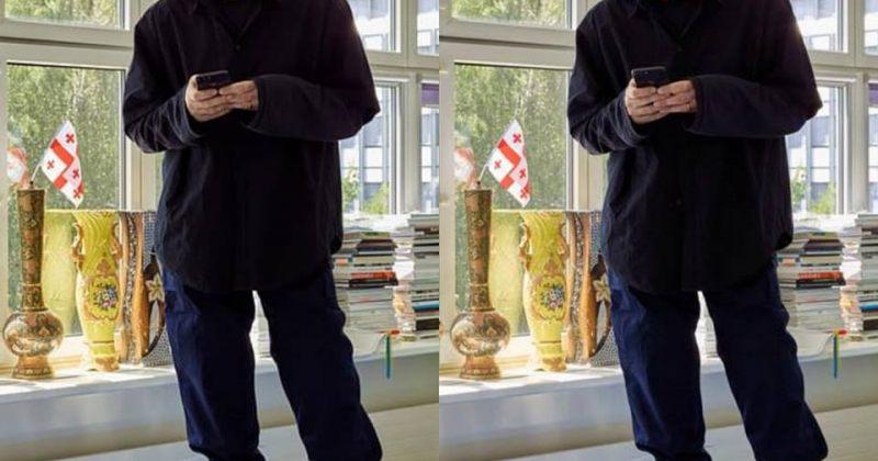 საქართველოს დროშა დემნა გვასალიას ოფისში ციურიხში [დღის ფოტო]
