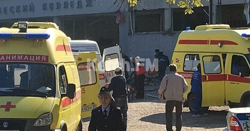 ოკუპირებულ ყირიმში, ტექნიკურ კოლეჯში მომხდარ აფეთქებას 10 ადამიანი ემსხვერპლა