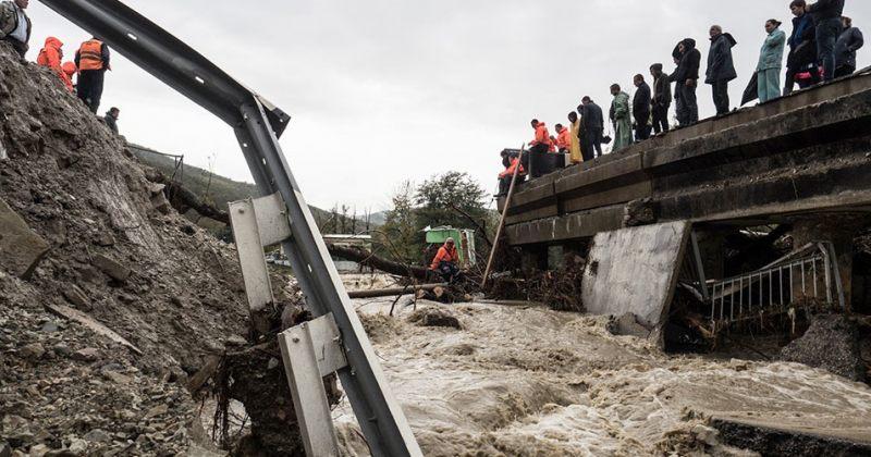 რუსეთის კრასნოდარის რეგიონში წყალდიდობის გამო 6 ადამიანი დაიღუპა