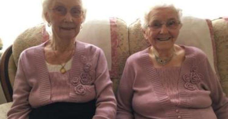 დიდ ბრიტანეთში ყველაზე ასაკოვანი ტყუპები 102 წლის გახდნენ