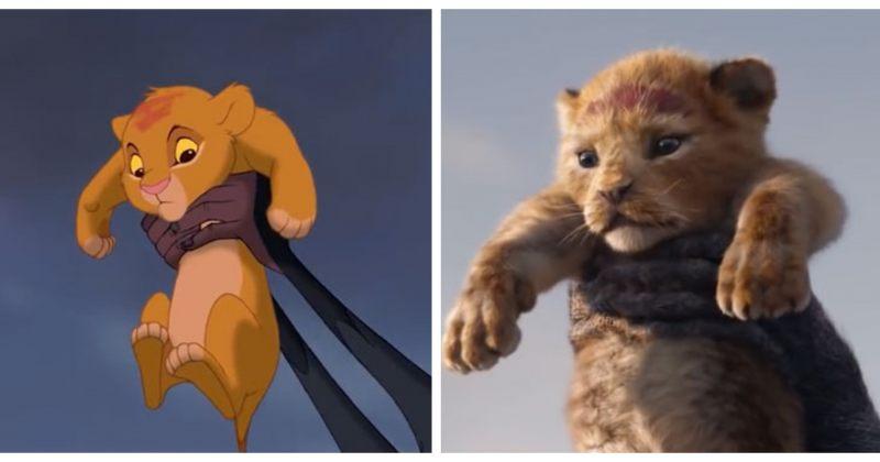 """1994 წელს გადაღებული """"მეფე ლომისა"""" და ფილმის ახალი ეკრანიზაციის შედარება"""
