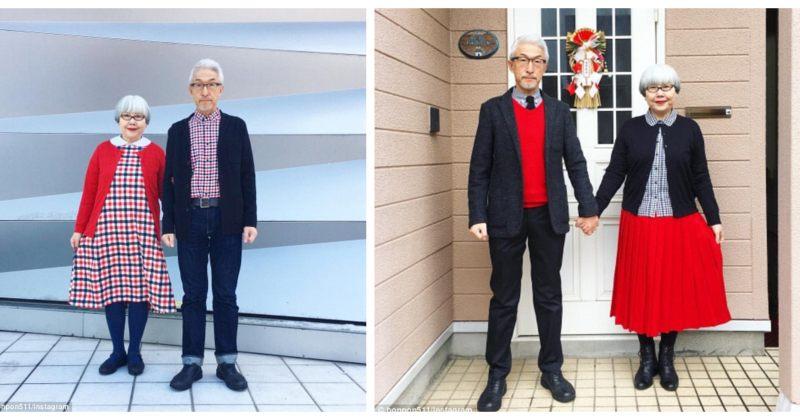 იაპონელი წყვილი 38 წელია ერთნაირად იცვამს - სურათები