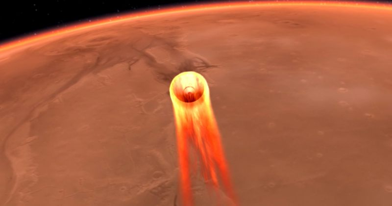 NASA-ს კოსმოსური ხომალდი InSight მარსზე წარმატებით დაეშვა [VIDEO]