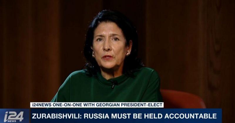 ზურაბიშვილი: რუსეთმა პასუხი უნდა აგოს იმისთვის, რაც საქართველოსა და უკრაინაში ხდება